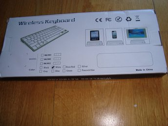 Mini  Wireless  keyboard  Model BK3001BA