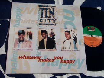 "TEN CITY - WHATEVER MAKES YOU HAPPY 12"" 1990 GER"
