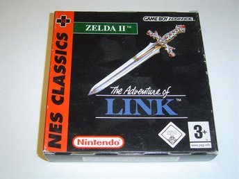 The Adventures of Link Zelda 2 Nintendo Gameboy Game Boy Advance GBA