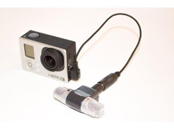 Extern mikrofon & 3.5 mm USB-adapter till GoPro