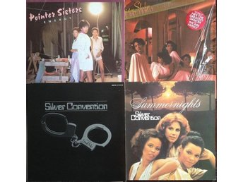 70-tals Disco - Sister Sledge, Pointer Sisters, Silver Convention