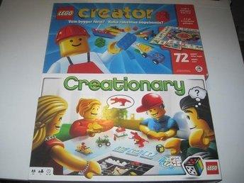 Lego Creator & Creationary Brädspel Boardgame Svensksålt - Borås - Lego Creator & Creationary Brädspel Boardgame Svensksålt - Borås