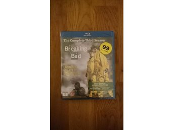 NY och inplastad DVD-box, Breaking Bad säsong 3 - Blue Ray