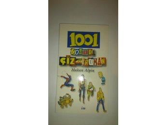 1001 soruda cizgi roman - Hakan Alpin, bok på turkiska - Kungshamn - 1001 soruda cizgi roman - Hakan Alpin, bok på turkiska - Kungshamn