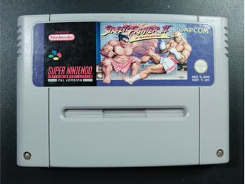 Street Fighter II Turbo till Super Nintendo SNES | PAL