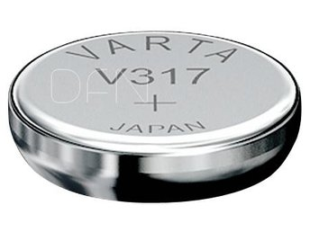 10x1 Varta Watch V 317 PU inner box