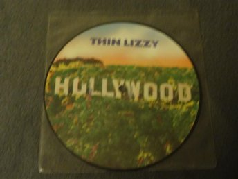THIN LIZZY - Hollywood (1981) //BILDSKIVA/PICTURE-DISC// - Phil Lynott -