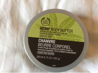 Ny Body Shop Bodybutter Hemp 200 ml