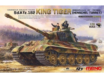 Meng Model 1/35 King Tiger Sd.Kfz.182 (Henschel Turret)