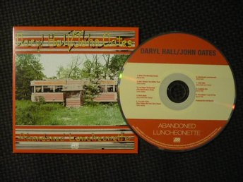 CD: HALL & OATES - Abandoned Luncheonette (1973/2015) Daryl Hall John Oates Soul - Malmö - CD: HALL & OATES - Abandoned Luncheonette (1973/2015) Daryl Hall John Oates Soul - Malmö