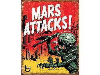 Mars Attacks - Retro Skylt - Vänersborg - Mars Attacks - Retro Skylt - Vänersborg