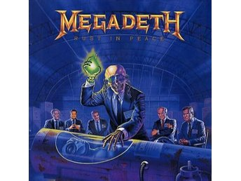 Megadeth: Rust in peace 1990 (Rem) (CD)