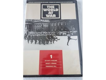 """The world at war"" nr 1 dokumentärserie på DVD, textad på svenska"