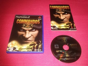 Commandos 2 : Men of Courage (PS2) Komplett