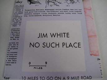 JIM WHITE No such place PROMO CD TOPPSKICK!!!