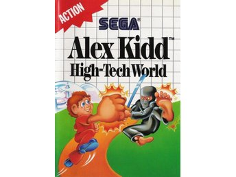 Alex Kidd: High-Tech World - Master System