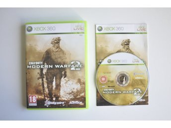 Call of Duty Modern Warfare 2 (komplett) till Xbox 360