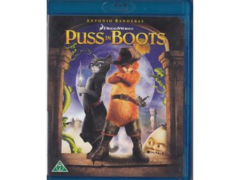 Puss in Boots 2011 Blu-ray (Hyr)