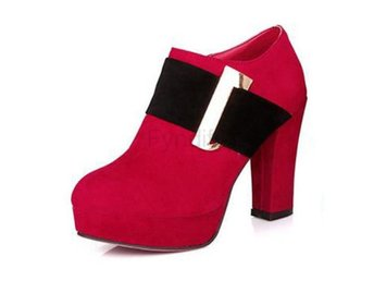 Dam Boots Wedding Shoes Autumn Winter Footwear Red 41