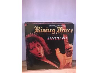 Yngwie J. Malmsteen's Rising Force - Marching Out, LP