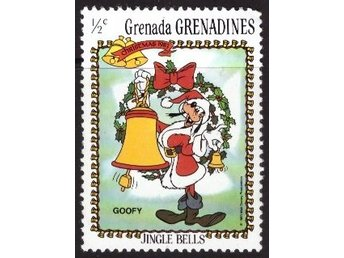 Disney, Grenada,  Grenadines, 1/2-cent Goofy