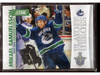 Mikael Samuelsson - 2010-11 Score Playoff Heroes #13