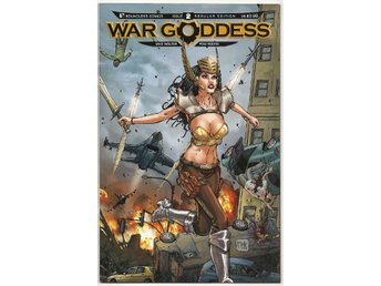 War Goddess # 2 Regular Edition NM Ny Import REA!