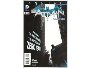 Batman 2nd Series Annual # 2 NM Ny Import