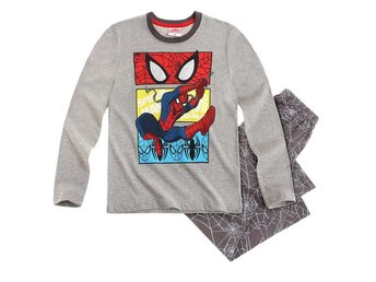 Spiderman/Spindelmannen Pyjamas, grå 140 cl