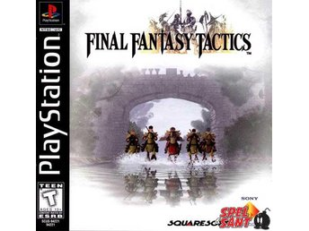Final Fantasy Tactics (Amerikansk Version)