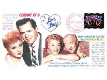 "65th ""I Love Lucy"" TV show Premiere Event Cover"