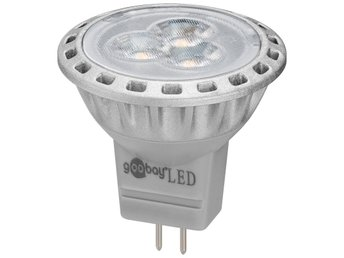 LED-lampa GU4 2W MR11 6200K 200 Lm
