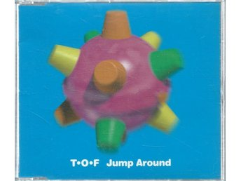 T.O.F - JUM AROUND    (CD MAXI/SINGLE )
