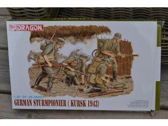 German Sturmpionier Kursk 1943) Eldkastare 1:35 Dragon 6024 (4st Figurer) Ny - Vännäs - German Sturmpionier Kursk 1943) Eldkastare 1:35 Dragon 6024 (4st Figurer) Ny - Vännäs