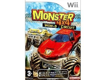 MONSTER 4x4 WORLD CIRCUIT (i box) till Nintendo Wii