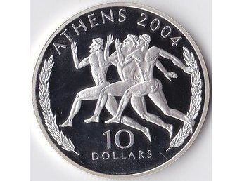 10dollars OS 2004 Liberia 2004 Silver 20,3g 925 Proof