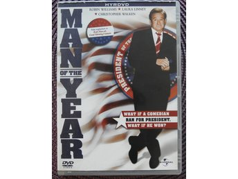 Man of the year DVD Robin Williams Laura Linney - Komedi, 2006