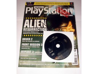 PLAYSTATION Mag  Nr33  HELT NY med CD OKT2000 ALIEN mm.  !!!