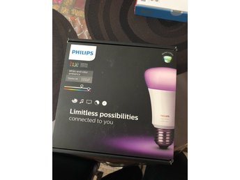 Philips Hue White and Colour Wireless Ambiance startpaket A60 E27