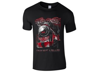 Aerosmith - Train kept a going  Barn T-Shirt