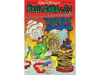 Kalle Anka & Co nr. 51 16:e December 1985 Walt Disney´s