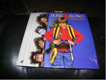 Home Alone 3 - Special Widescreen edition  - 1st  Laserdisc