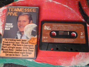 TENNESSEE FIVE, TRUCK DRIVEN´ MAN, ME AND JESUS, KASSETTBAND