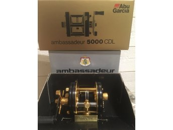 Abu Ambassadeur 5000 CDL guldrulle Golden colletion