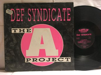 DEF SYNDICATE - THE A PROJECT - MAXI