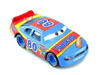 Disney Pixar Cars Bilar Mcqueen -  Gask its 80 Metall skala 1:55