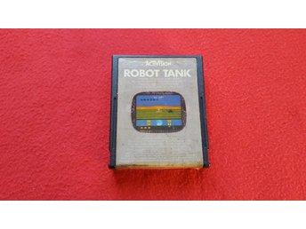 ROBOT TANK till Atari 2600 - Blomstermåla - ROBOT TANK till Atari 2600 - Blomstermåla