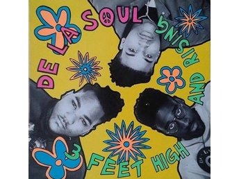 De La Soul title*  3 Feet High And Rising* Hip-Hop 80's Golden Scandinavia LP