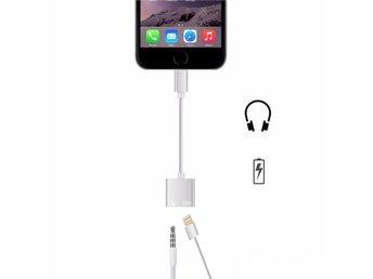 iPhone 7 adapter, ladda och 3.5mm hörlurar samtidigt - Bromma - iPhone 7 adapter, ladda och 3.5mm hörlurar samtidigt - Bromma