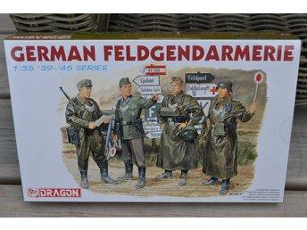 German Feldgendarmerie Militärpolis Tyskland 1:35 Dragon 6061 (4st Figurer) Ny - Vännäs - German Feldgendarmerie Militärpolis Tyskland 1:35 Dragon 6061 (4st Figurer) Ny - Vännäs